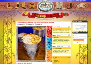Papa Dean's Popcorn Shopping Cart; 600x420; 298 kb